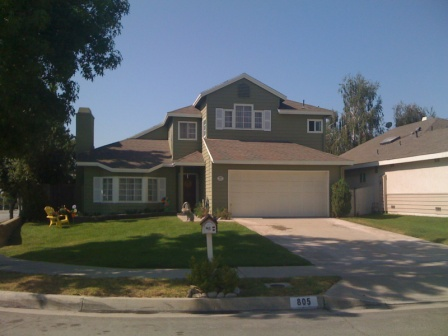Exterior house painting by CertaPro painters in Pasadena, CA