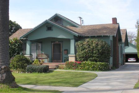 Teal House Painting Exterior