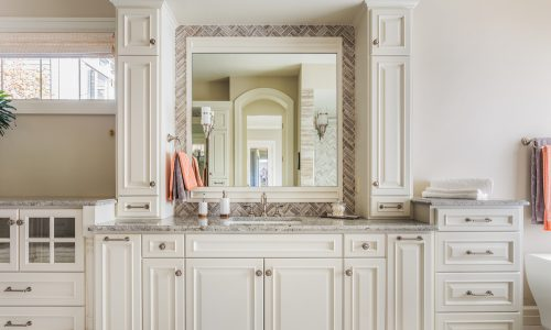 bathroom cabinet painting