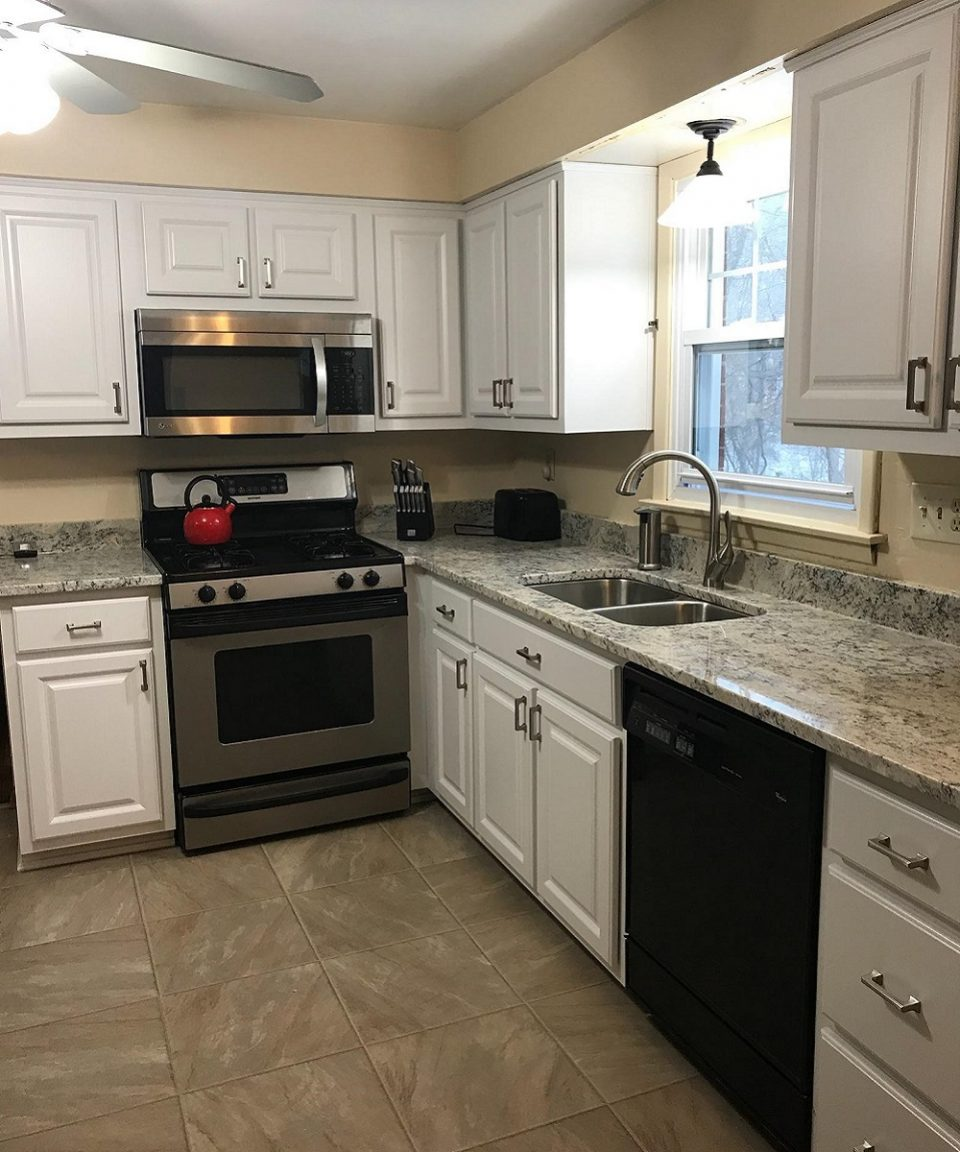 Kitchen cabinets after picture