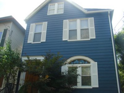 Exterior painting by CertaPro house painters in PIttsburgh, PA