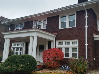 Exterior house painting by CertaPro painters in Pittsburgh North Side