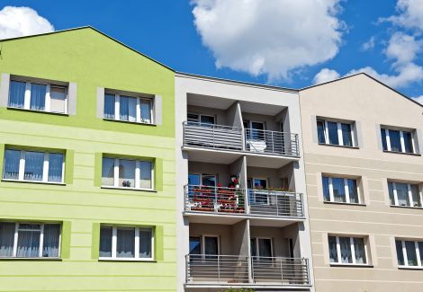 Commercial Exterior Apartments Painted