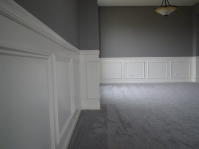 Interior house painting by CertaPro painters in Plainfield, IL