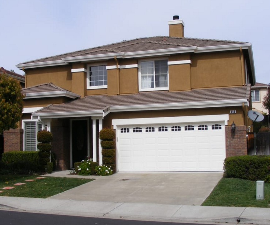 Dublin Traditional Stucco Home Exterior Painting