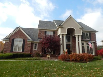 Exterior painting by CertaPro house painters in Canton, MI