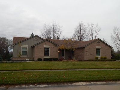 Exterior house painting by CertaPro painters in Plymouth, MI