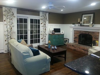 Interior painting by CertaPro house painters of Northville, MI
