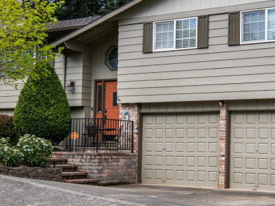 exterior painting done on a home in gresham or