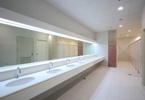 Commercial Bathroom Interior