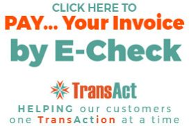 pay via e-check for house painting