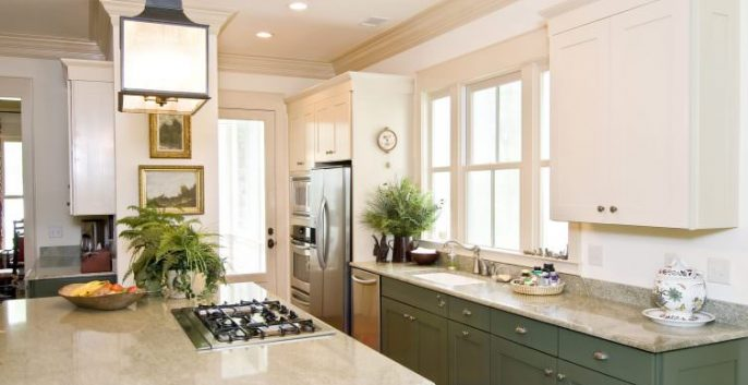 Check out our Cabinet Refinishing and Repainting