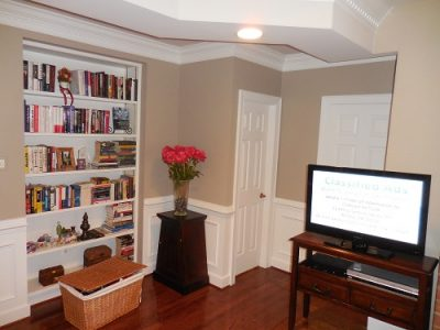 Interior painting by CertaPro house painters in Reston, VA