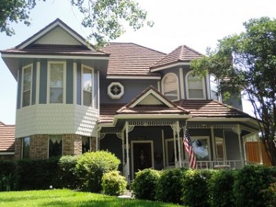 Exterior painting by CertaPro house painters in North Garland, TX