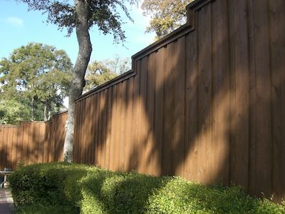 Fence Staining by CertaPro house painters in Richardson, TX