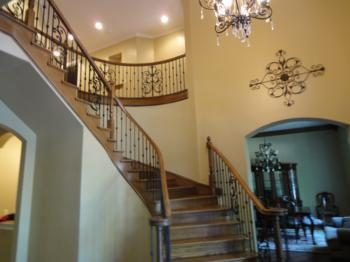 Carpentry & Staining by CertaPro house painters in Richardson, TX