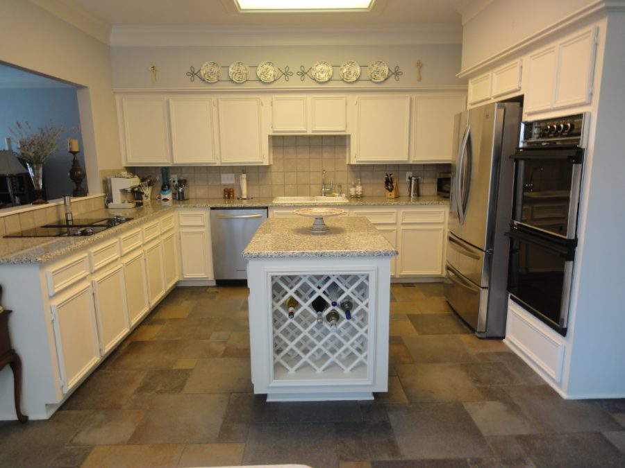 Interior kitchen painting by the experts at CertaPro Painters in Sherrill Park, TX