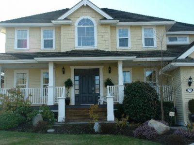 Exterior painting by CertaPro house painters in Ladner, BC