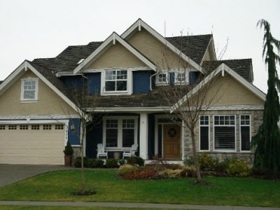 Exterior painting by CertaPro house painters in Annacis Island, BC
