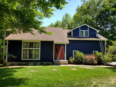 Front Exterior House Painting After Midland Park, NJ