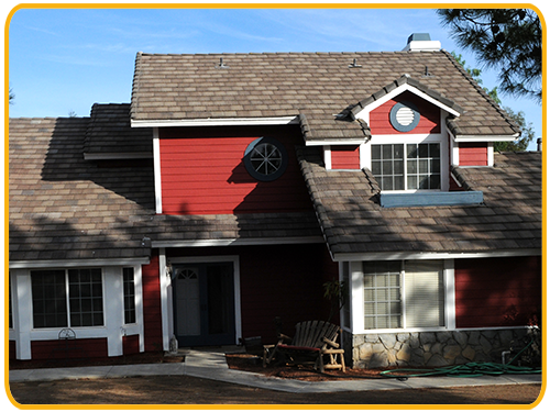 Exterior house painting by CertaPro painters in Woodcrest