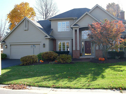 Exterior painting by CertaPro house painters in Fairport, NY