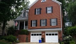Exterior painting by CertaPro house painters in Bethesda, MD