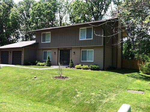 Exterior painting in Brookville and Sandy Springs, MD by CertaPro Painters of Rockville Bethesda