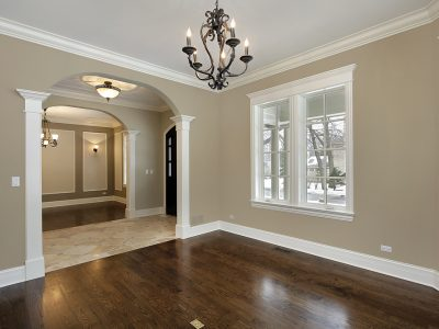 Newly Painted Home Interior