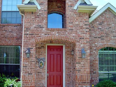 Brick home in Texas