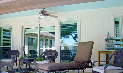 Relaxing Patio - Home Exterior Painting