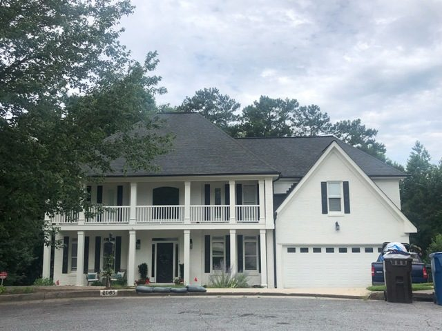 certapro painters of rowell - exterior painting project in alpharetta