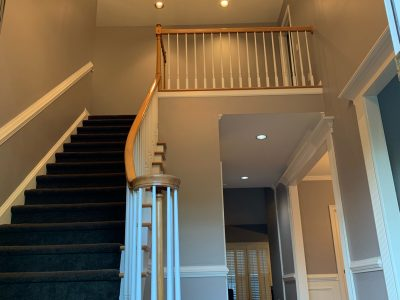 CertaPro Painters of Roswell - interior painting project in marietta