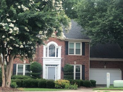 certapro painters of roswell - front door painting in roswell