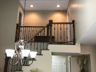 repainted walls and textured ceiling repair in marietta - certapro painters of roswell