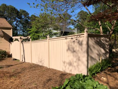 restained fence in marietta ga by certapro painters of roswell