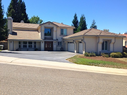 Exterior house painting by CertaPro painters in Folsom