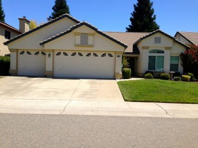 Exterior painting by CertaPro house painters in Antelope