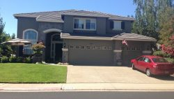 Exterior house painting by CertaPro painters in Granite Bay