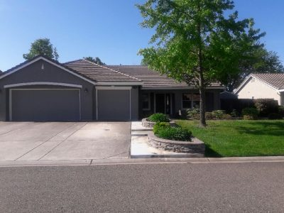 Exterior painting by CertaPro house painters in Mather, CA