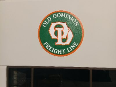 Old Dominion sign painted by CertaPro Painters of Sacramento