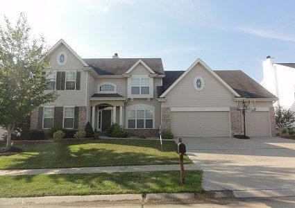 Exterior Painting Project in O'Fallon