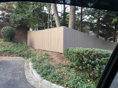 charlotte commercial fence painter