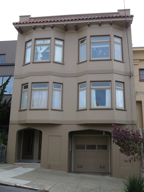 Exterior painting in Noe Valley by CertaPro Painters of San Francisco, CA