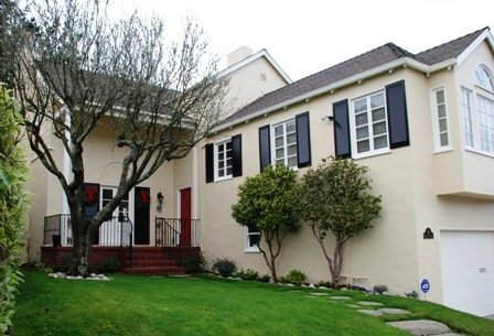 Exterior house painting in Monterey Heights by CertaPro Painters of San Francisco, CA