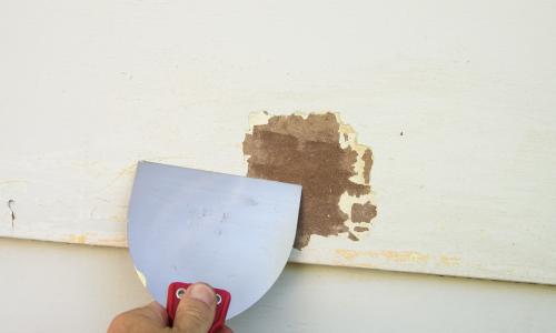 Exterior paint preparation