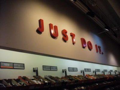 Nike Store Interior Painting