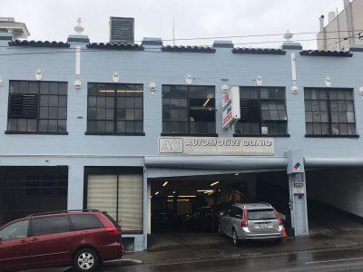Commercial Painting - Auto Shop