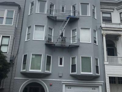 San Francisco Apartment Building Repainting