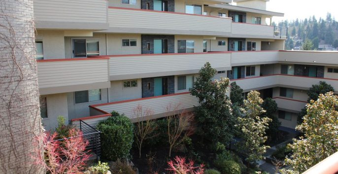CertaPro Commercial Condo painting in Bellevue, WA